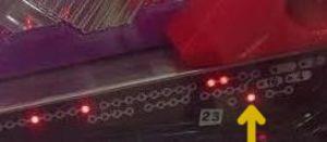 CRエヴァンゲリオン8 朝一ランプ
