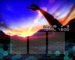 トータルイクリプス MAX-RT RT終了画面 基本パターン