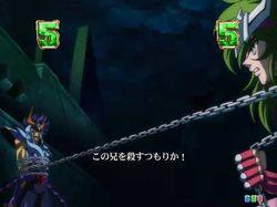 CR聖闘士星矢4 The Battle of 限界突破 聖矢&瞬VSカーサ
