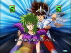 CR聖闘士星矢4 The Battle of 限界突破 シャイナVSポセイドン