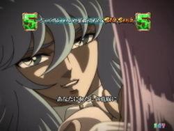 CR聖闘士星矢4 The Battle of 限界突破 アテナとポセイドンの出会い