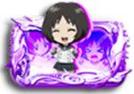 PA喰霊-零-葵上~あおいのうえ~(甘デジ) PA喰霊-零-葵上~あおいのうえ~(甘デジ) キャラクタープレート 神楽