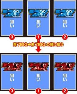 パチスロ ロックマン ボーナス判別手順8