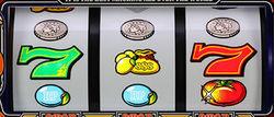 スーパーリノXX ボーナス中の上段コイン