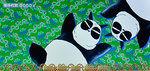 パンダ2(緑)