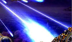 パチスロ 聖闘士星矢SP 通常時の演出 流星演出