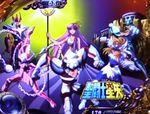 聖闘士星矢 海皇覚醒SP 6号機 アイキャッチ アテナ+ブロンズ5人